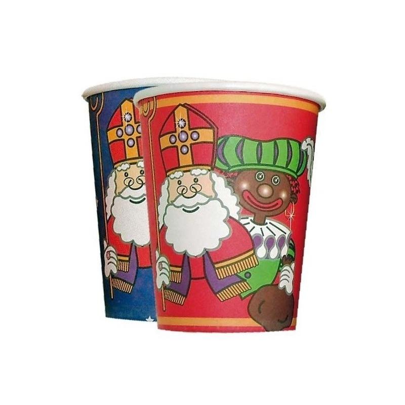 Bekers van karton van Sinterklaas thumbnail