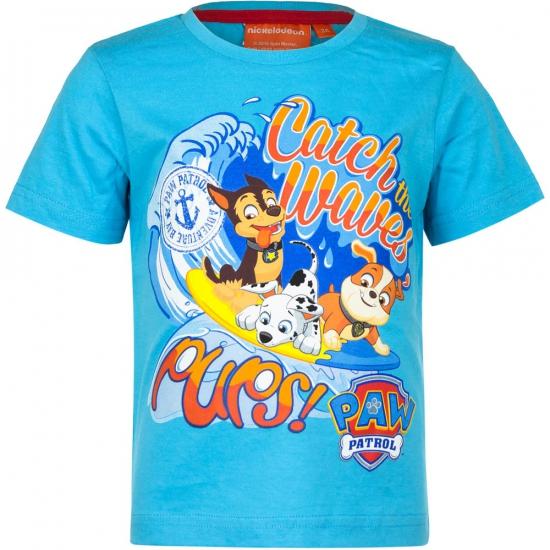 Blauw Paw Patrol t-shirt voor kinderen thumbnail