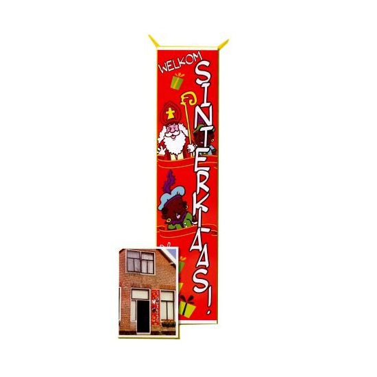 Gevelvlag Sinterklaas 80 x 206 cm thumbnail