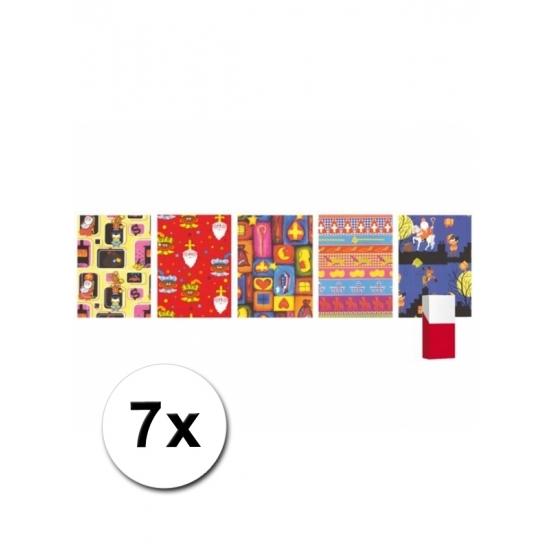 Grootverpakking inpakpapier van Sinterklaas thumbnail