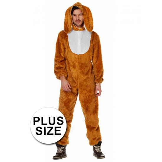 Grote maten haas kostuum voor volwassenen. compleet hazen kostuum voor volwassenen. het haas kostuum bestaat ...