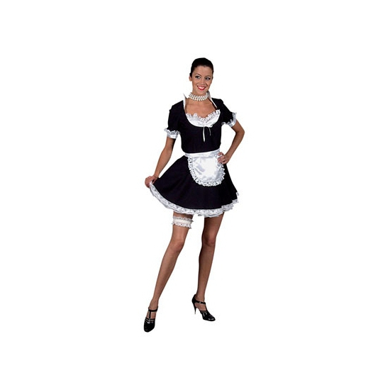 Sexy dienstmeisje/ kamermeisje kostuum voor dames. het dienstmeisje kostuum bestaat uit het zwarte jurkje en ...