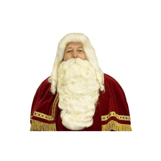 Kanekalon Sinterklaas baardset thumbnail