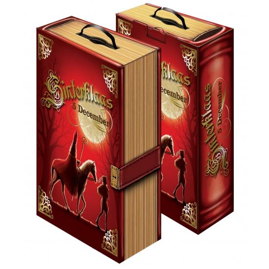 Kartonnen Sinterklaas boek thumbnail