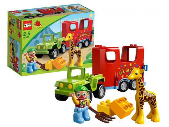 Lego Duplo kinderspeelgoed 10550 Circus thumbnail