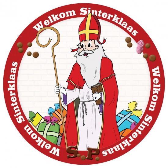 Onderzetters Sinterklaas thumbnail