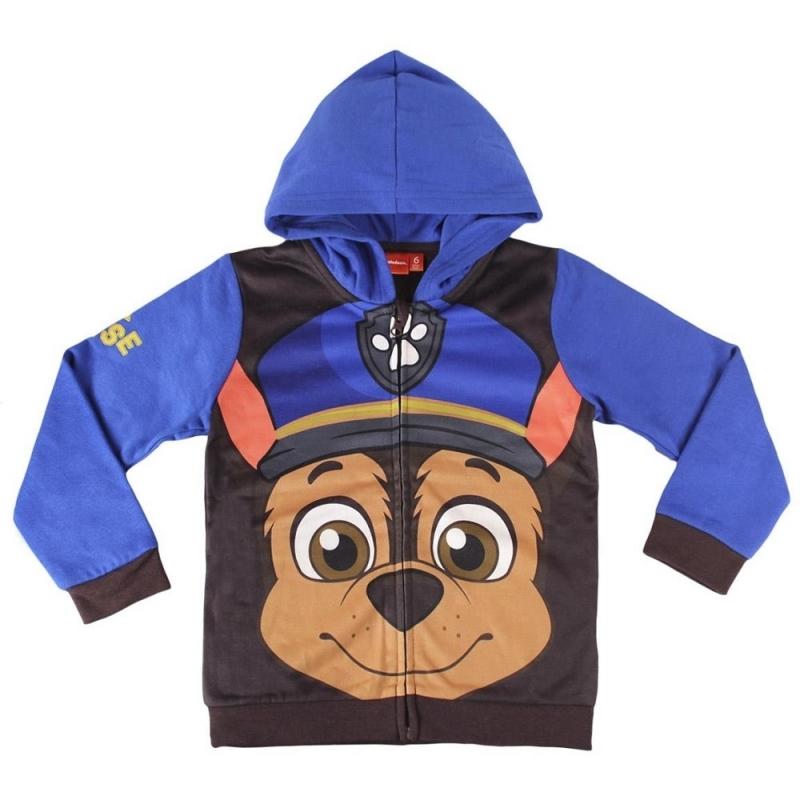 Paw Patrol Chase hooded sweatshirt thumbnail