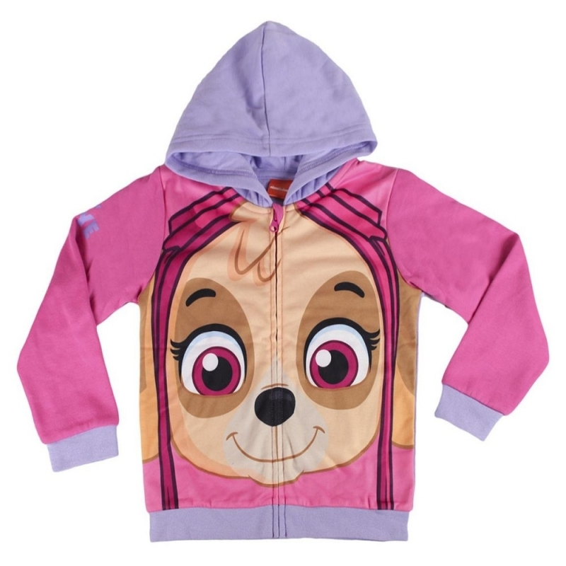 Paw Patrol Skye hooded sweatshirt thumbnail