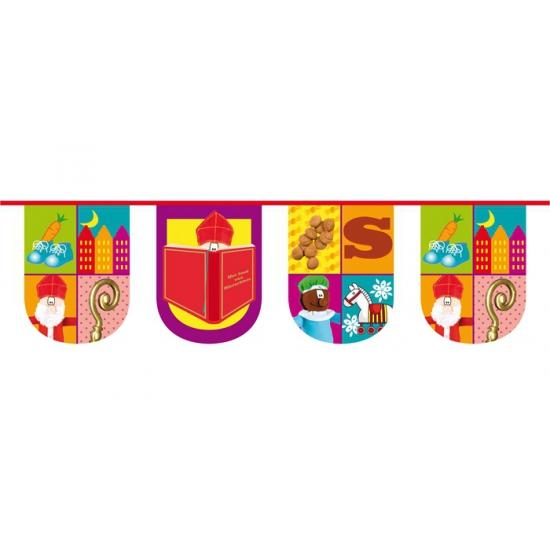 Plastic Sinterklaas vlaggenlijn thumbnail