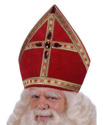 Sinterklaas mijters fluweel thumbnail