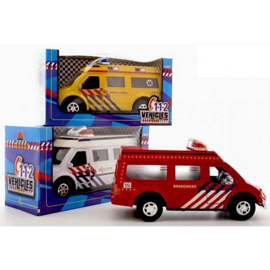 183674714Speelgoed 112 auto brandweer