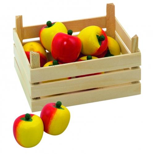 185575113Speelgoed appel met kist