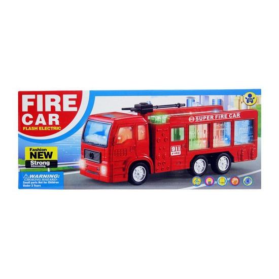 185178120Speelgoed brandweerauto met licht en geluid