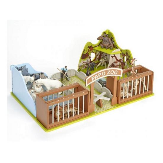 205496682Speelgoed dierentuin van plastic