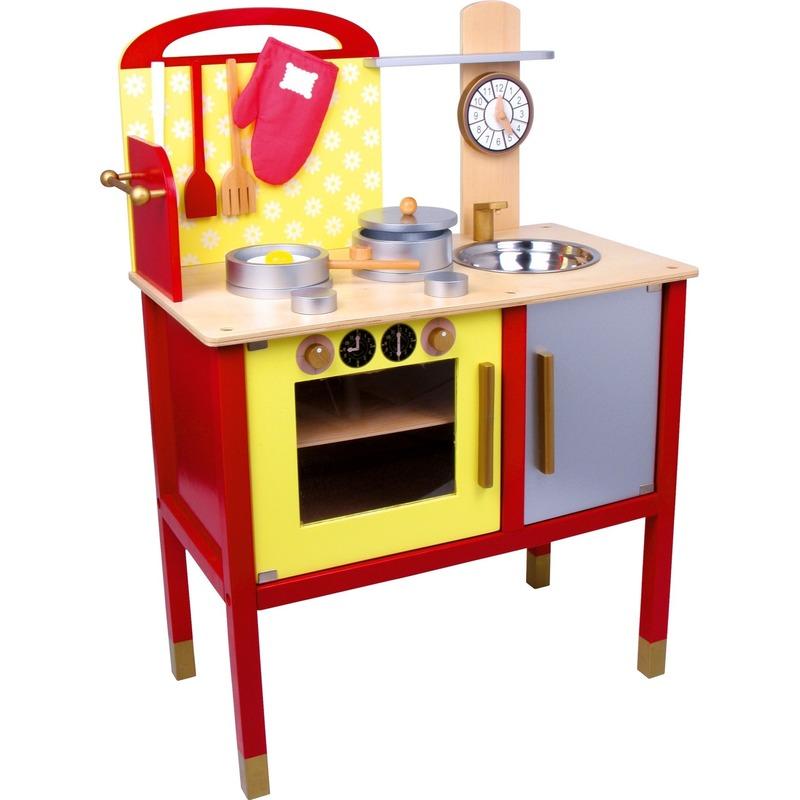 170113903Speelgoed keuken van hout