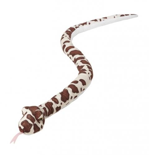 Speelgoed pluche knuffel python 145 cm