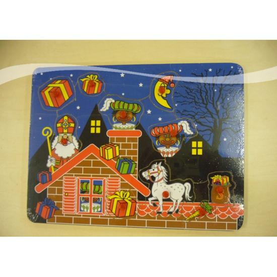 Speelgoed puzzelplank Sinterklaas thumbnail