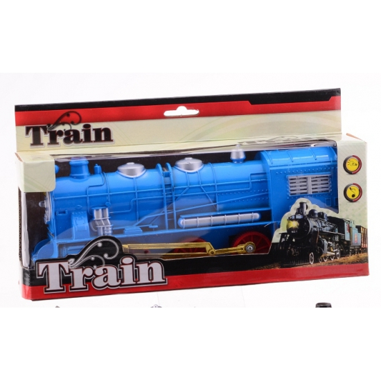 174341882Speelgoed treinen blauw