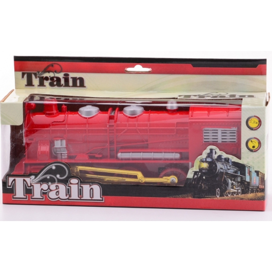 174341883Speelgoed treinen rood