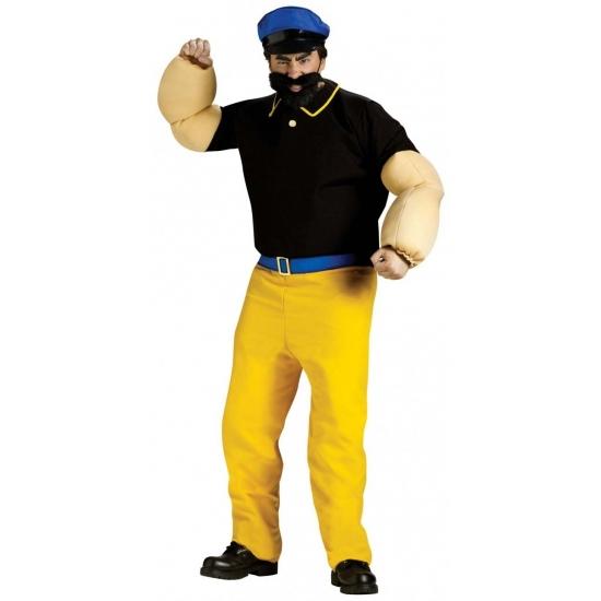 Brutus gespierd verkleed kostuum. dit brutus kostuum bestaat uit een shirt met gespierde armen, broek, riem, ...
