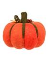 Oranje gebreide pompoenen 20 cm