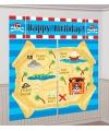 Piraat party Happy Birthday decoratie