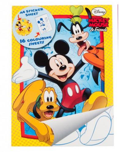Kleurplaten A4 Disney.Mickey Mouse Kleurplaten Boek Bestellen Voor 1 50 Bij Het