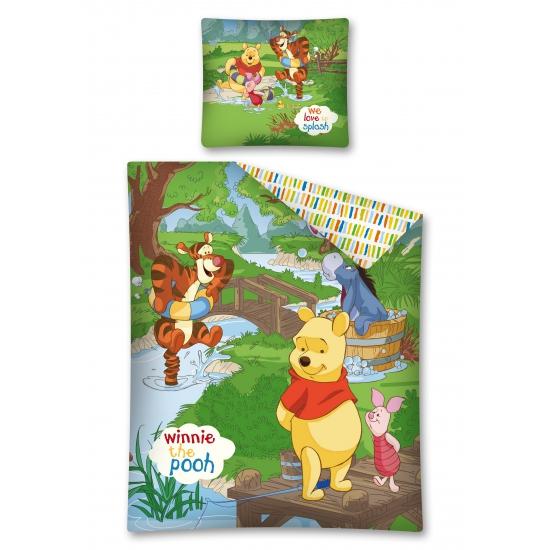 Winnie de Poeh dekbedovertrek kinderen 140 x 200 cm bestellen voor  u20ac 39 95 bij het Knuffelparadijs