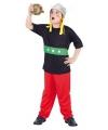 Carnaval gallier kostuum voor kinderen 3-delig