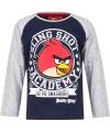 Angry Birds t-shirt blauw/grijs voor jongens