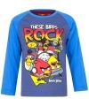 Angry Birds t-shirt blauw voor jongens