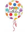 Verjaardags folie ballon helium