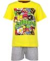 Gele Angry Birds pyjama kort
