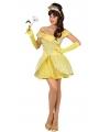Gele prinses kostuums voor dames