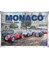 Metalen funplaten Grand Prix Monaco