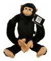 Pluche hangende chimpansee 60 cm