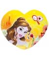 Meisjeskamer kussen Belle hartje