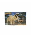 Houten olifant beest bouwpakket