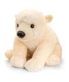 Keel Toys pluche ijsbeer knuffel 110 cm