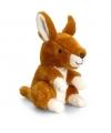 Keel Toys pluche kangoeroe knuffel 14 cm