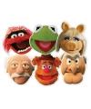 Kartonnen Muppet Show maskers 6 stuks