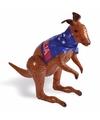 Opblaas kangoeroe met Australie