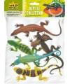 Plastic dierenset met reptielen 5 stuks