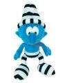 Pluche boef Smurf knuffel 20 cm
