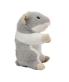 Pluche hamsters knuffel 13 cm grijs