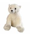 Pluche ijsbeer knuffel 30 cm