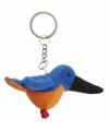 Ijsvogel sleutelhangers 6 cm
