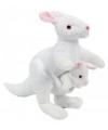Kangoeroe met baby knuffel 23cm