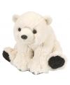 Speelgoed knuffel ijsbeer 20 cm