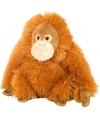 Knuffeldiertje Orang Oetan pluche oranje 20 cm